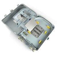 4 шт. FTTH коробка для 16 core или plc плагин в Тип/Волокно оптической распределительной коробке/FTTH коробка/FTTH распределительная коробка