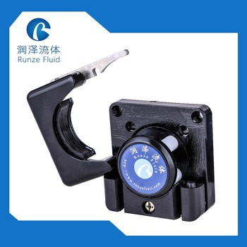Easy Install Micro Dosing Head Peristaltic 4 Rollers for DC/NEMA 17 Stepper Motor