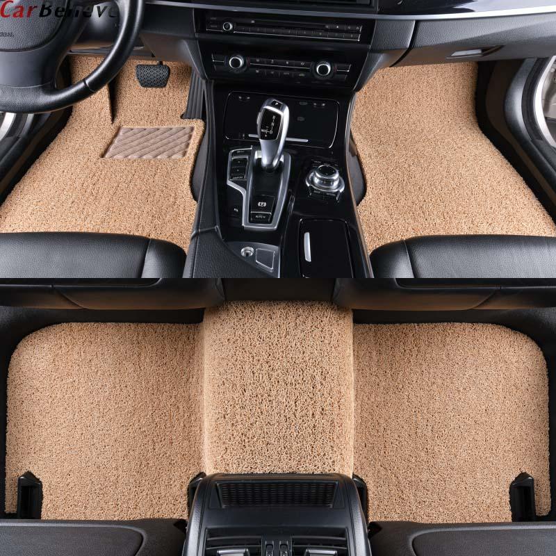 Car Believe car floor mat For ford fusion explorer fiesta mk7 transit custom s max focus 2006 kuga edge accessories carpet rugs