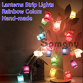 Romantic 3m Holiday Strip Lights For Party/New Year/Christmas Decoration Nice Atmosphere AC220V Lantern Decoration 7 Colors