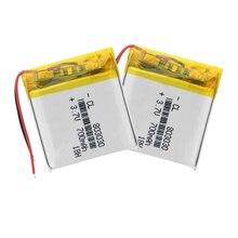 803030 Bluetooth стерео колонки 700mAh навигатор 3,7 V полимерный литий-ионный аккумулятор для смарт-часов MP3 MP4 игрушка светодиодный светильник