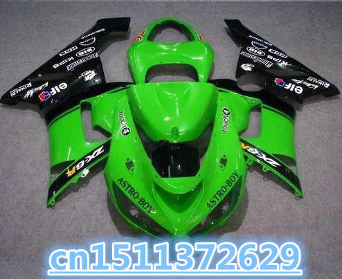 Green black fairing kit For NINJA ZX 6R 636 05 06 ZX-6R ZX6R 2005 2006 ZX 6R 05 06 fairings Hot-Dor D