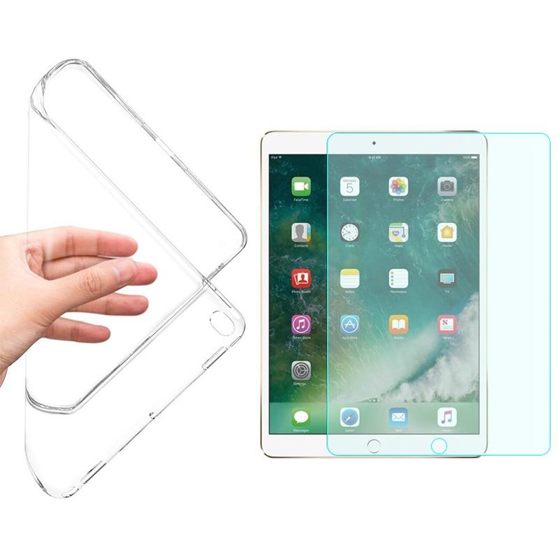 Мягкий гибкий прозрачный чехол для iPad мини случай 1 2 3 Экран протектор для iPad мини  ...