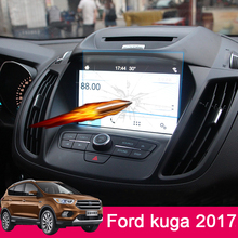 Car GPS Navigation Screen Glass Steel Protective Film for Ford Kuga Escape 2013 14 2015 2016