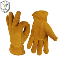 OZERO Motorcycle Gloves Winter 20F Cold Proof Thermal Men S Warm Cowhide Leather Moto Racing Ski