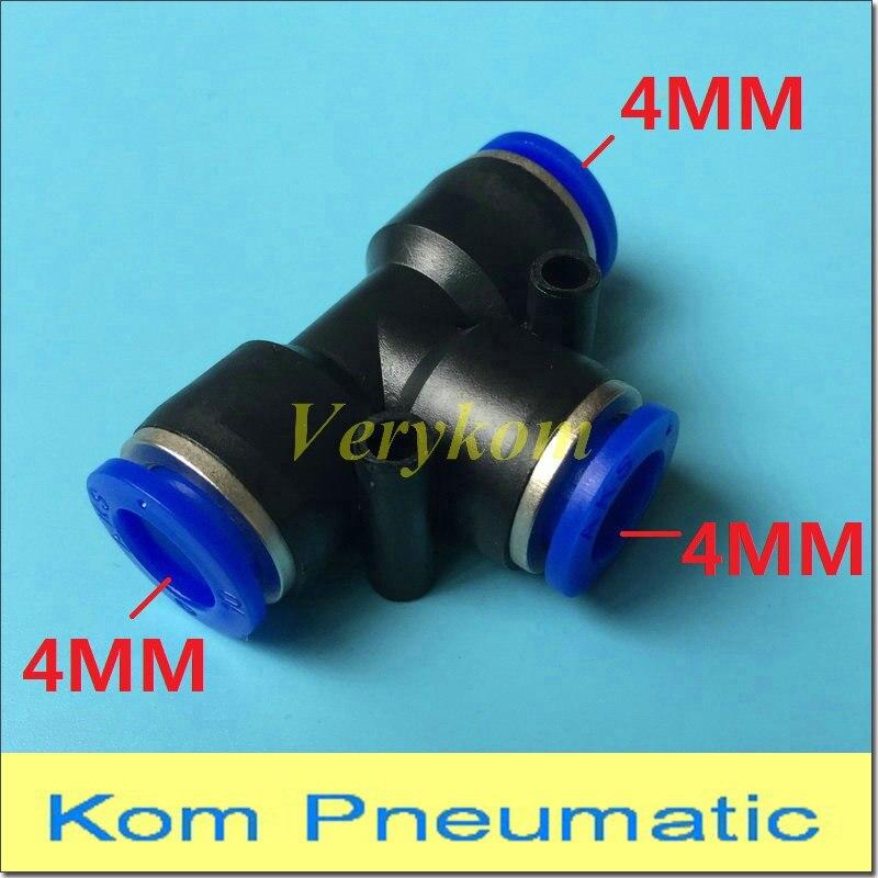 6 mm D/ébit de contr/ôle de Vitesse Valve pneumatique Connecteur Pousser 5pcs Raccords