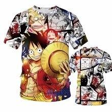 New Brand 3D Print Cartoon Men/Women Anime T shirt Dargon Ball z t shirts Pokemon/One Piece/One Punch Man Tight T-shirt Clothing
