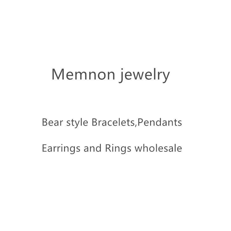 2019 new 925 Sterling Silver Bear Stud Earrings for women Hollow earring TS bear style earings