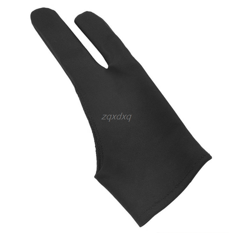 2-Finger Tablet Drawing Anti-Touch Gloves For IPad Pro 9.7 10.5 12.9 Inch Pencil Whosale&Dropship