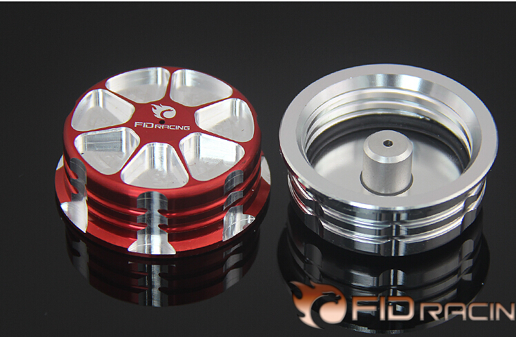 FID metal fuel tank cap FOR LOSI DBXL silver color. red color fid enhanced driving seat after the drive bracket for losi dbxl