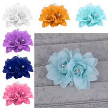 1Pcs Bohemian Style Women Handmade Flower Hairband Crown Wedding Wreath Bridal Headdress Beauty Styling tool Dropship