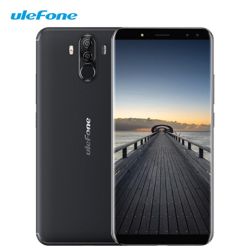Ulefone Power 3 4G LTE Smartphone 6 pulgadas 18:9 Pantalla Completa Face ID MTK6763 Octa Core 6GB RAM 64GB ROM Android 7,0 de 6080mAh 16.0MP