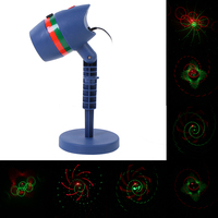 Laser Star Light Projector Showers Christmas Garden Landscape Lighting Waterproof Outdoor Lamp Red Green Mix Motion