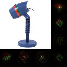 Водонепроницаемый LED лазерный свет звезды проектор дождя сад Освещение открытый травы пейзаж лампа праздник Новогодние товары украшения