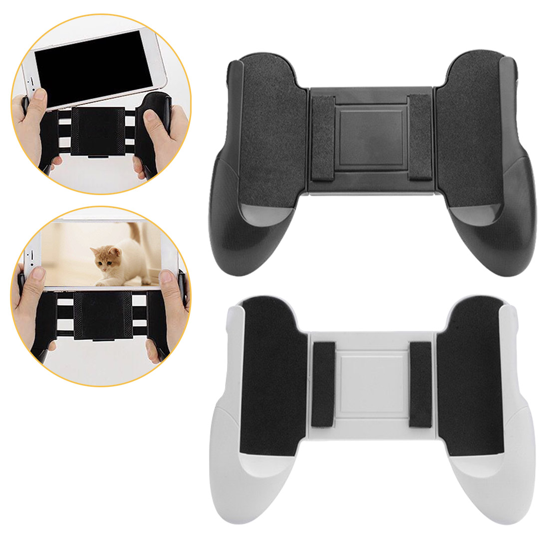 4.5-6.5 Inch'' Mobile Game Support Gamepad Bracket Handle Stand Mobile Phone Game Holder