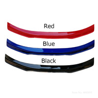 For Ford Mustang 2015 2016 20172018 ABS Material Black Spoiler Rear Trunk Lid Lip Blue Spoiler Tail Wing Decoration Car Styling
