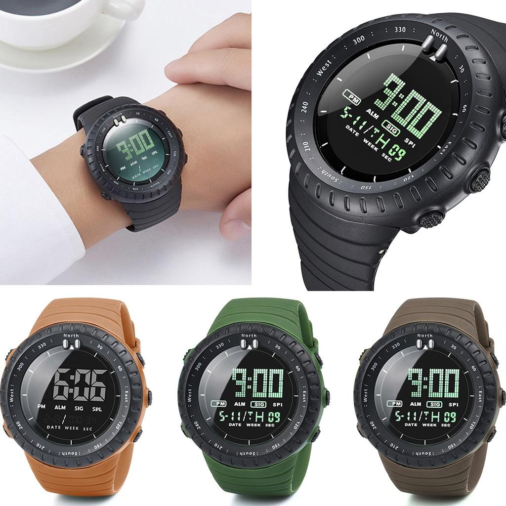 Sport Watches Clock Saat Hour Electronic Reloj New-Fashion Men LED Digital Montre