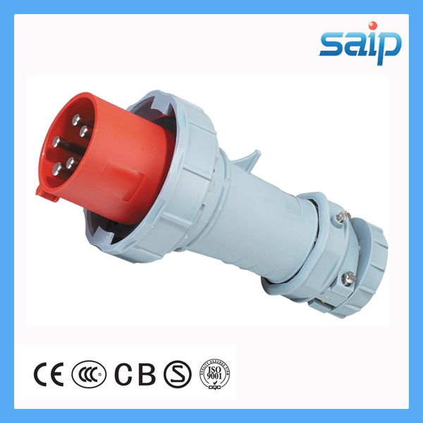 New Industrial Plug Switch Socket Outdoor Waterproof 5P 63A/400V EN/IEC 60309-2 63a 3pin 220 240v industrial waterproof concealed appliance plug waterproof grade ip67 sf 633