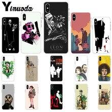 Yinuoda Leon Matilda Natalie Portman  Novelty Fundas Phone Case Cover for iPhone X XS MAX  6 6s 7 7plus 8 8Plus 5 5S SE XR yinuoda spanish tv series elite novelty fundas phone case for iphone x xs max 6 6s 7 7plus 8 8plus 5 5s se xr 11 11pro max