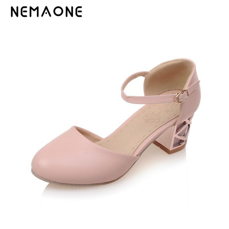 NEMAONE Fashion Cross Ankle Strap Pointed toe bowtie Sandals Brand Sexy square High Heels Sandals Dress Summer Shoes for Women ankle strap chunky elegant cool designer pointed toe pink high heels sandals women fashion 2018 summer shoes cross pumps closed