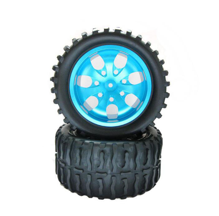 Free Shipping 2PCS 1/10 RC Monster Truck Tires Tire For HSP 94111/94108/94188 HPI FS NANDA KYOSHO Heng Long RC Monster Car 2 7 m column 8 bone umbrella sun outdoor umbrellas patio security promotional balcony page 9