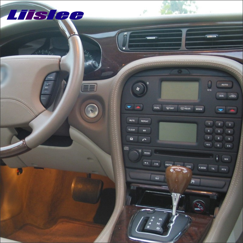 liislee für jaguar s typ 2000 ~ 2010 radio cd dvd stereo player