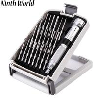 Ninth World 22 in 1 High Grade Screwdriver Repair Tools Kit Portable Precision Set