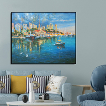 Venice Water City Famous Oil Painting Wall Art Poster Print Canvas Calligraphy Decor Picture for Living Room Home