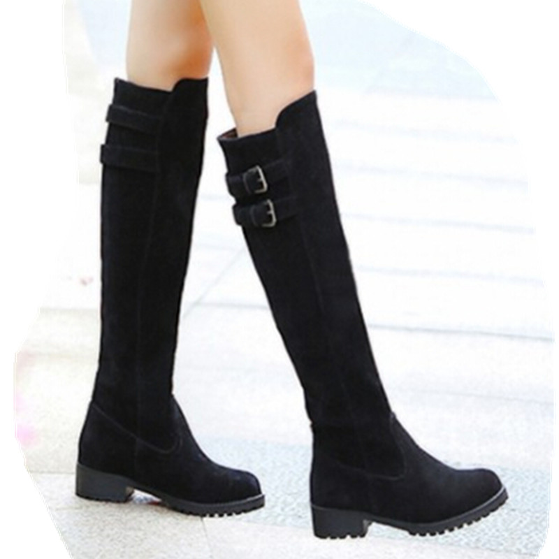 Popular Dress Boots for Women Low Heel-Buy Cheap Dress Boots for ...