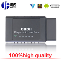 NoEnName Null VC201 WiFi Car Scanner Diagnostic Tool Mini OBDII ELM327 Support Android Symbian Windows High