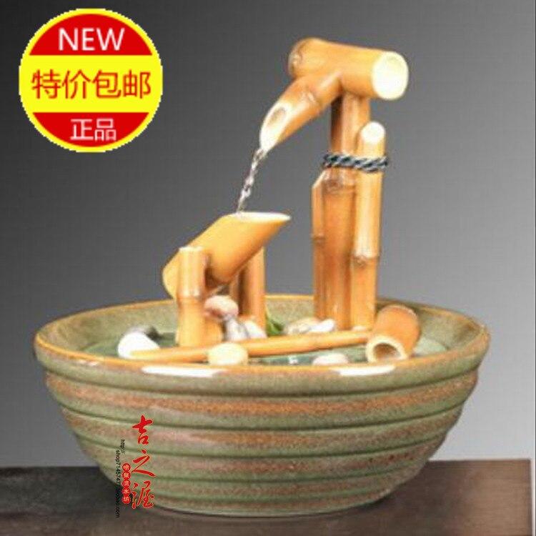 Fontaines eau en bambou achetez des lots petit prix for Fontaine interieur bambou