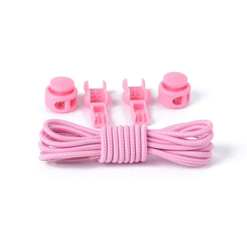 1 Pair No Tie Locking Shoelaces Elastic Unsiex Women Men Trainer Running Athletic Sneaks Shoe Laces Fit Strap Shoelace Wholesale (15)