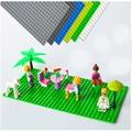 16*32 DIY Bloques de Construcción Ensambladas Base Accesorios Mini Placa Inferior con Bloques de Lego Compatible
