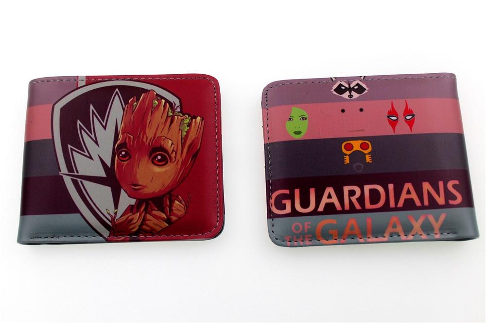 Marvel Guardians of the Galaxy Groot Bi-Fold Wallet Kids Boys Girls Men Women