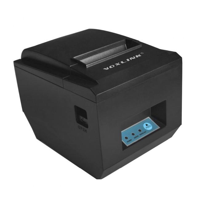 80 ММ Автообрезки Принтер WiFi Wirelss WI-FI/USB Термальный Чековый Принтер 300 мм/сек. билл POS принтер для ресторана принтер