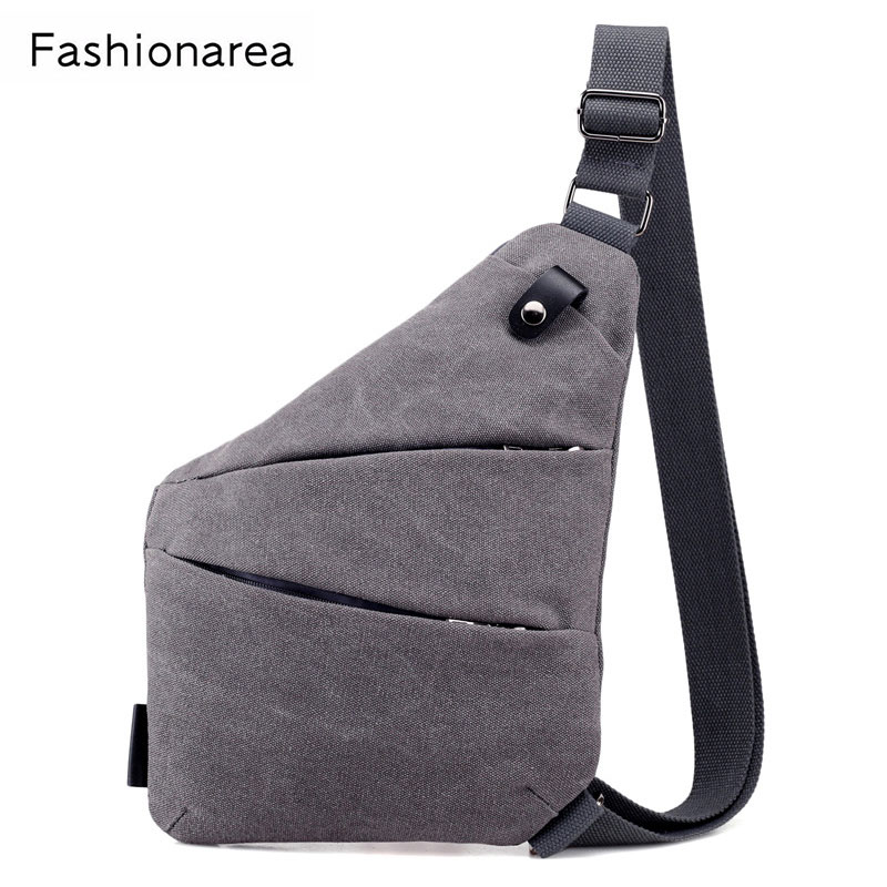 NEW Arrival Anti-Theft Men Messenger Bag Single Shoulder Bags Men Hidden Chest Pack Thin Crossbody Bag Cool Motorcycle Sling Bag