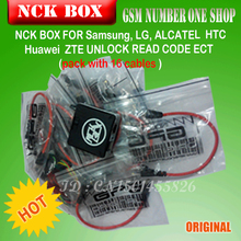 100% Original NCK Box with 16 Cables Full activated/Unlock&Repair&Flash+free shipping