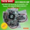 100% Original NCK Caja con 16 Cables Completo activado/Desbloqueo de Reparación y Flash + envío libre