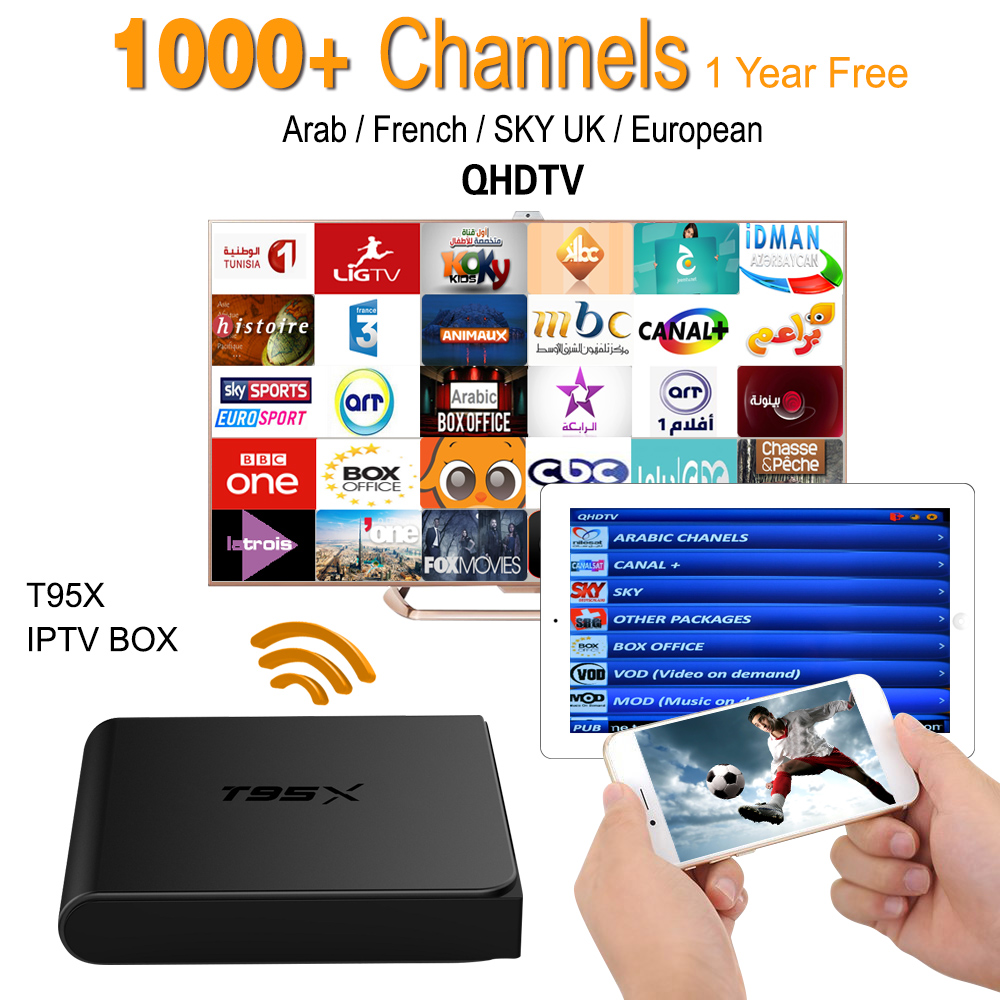 ФОТО European IPTV Box Android TV Box IPTV Receiver & 1000+ live French Turkish Netherlands Channels Better Than MXV Android TV Box