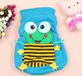 2016 New Winter High Quality Lovely Frog Baby Boys Girls Thickening Vest Infant Cartoon Vests A315