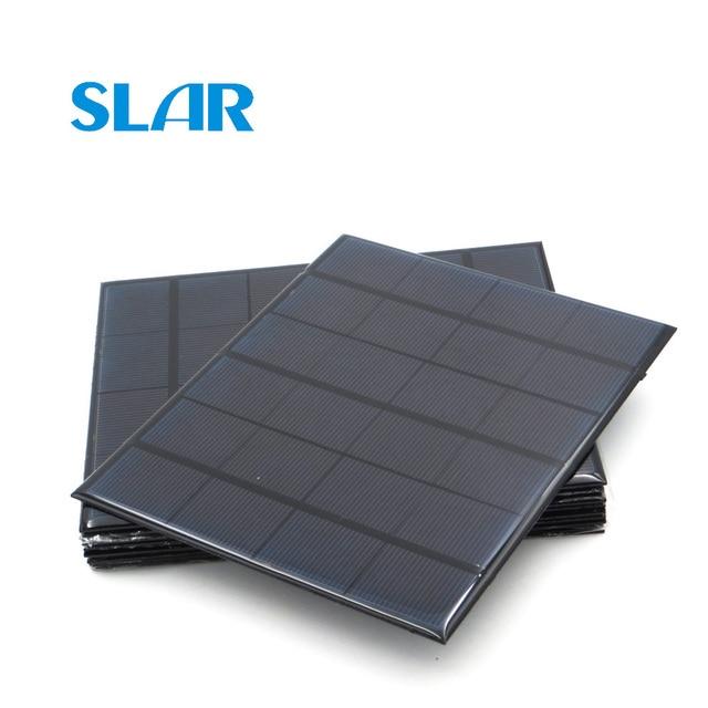 6V Panel słoneczny 100mA 167mA 183mA 333mA 5000mA 583mA 750mA 1000mA 1670mA Mini bateria słoneczna ładowarka do telefonu komórkowego przenośny