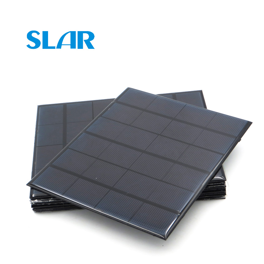 6V Solar Panel 100mA 167mA 183mA 333mA 5000mA 583mA 750mA 1000mA 1670mA Mini Solar Battery Cell Phone Charger Portable