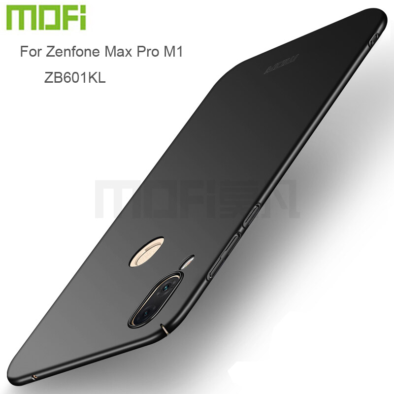 MOFi For ASUS Zenfone Max Pro M1 ZB601KL Back Cover Full Protection Hard Fundas Phone Cases Shell For Zenfone Max Pro M1 ZB602KL