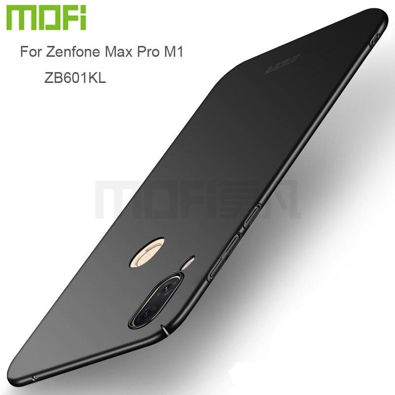 MOFi Pour ASUS Zenfone Max Pro M1 ZB601KL Couverture Arrière Pleine Protection Dur Fundas Téléphone Cas Shell Pour Zenfone Max pro M1 ZB602KL