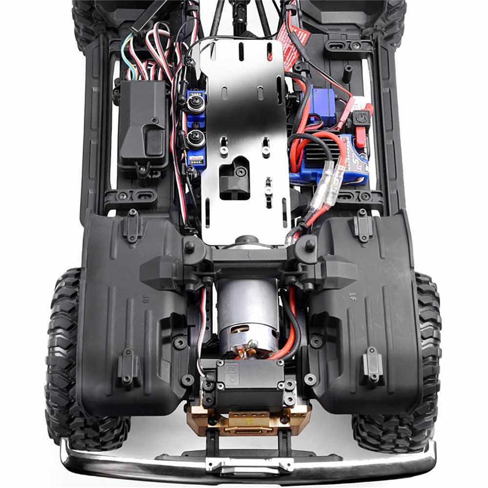 GRC TRX4 G2 Front-mounted Engine Motor Gearbox Kit for TRAXXAS TRX-4 RC#GAX0033S