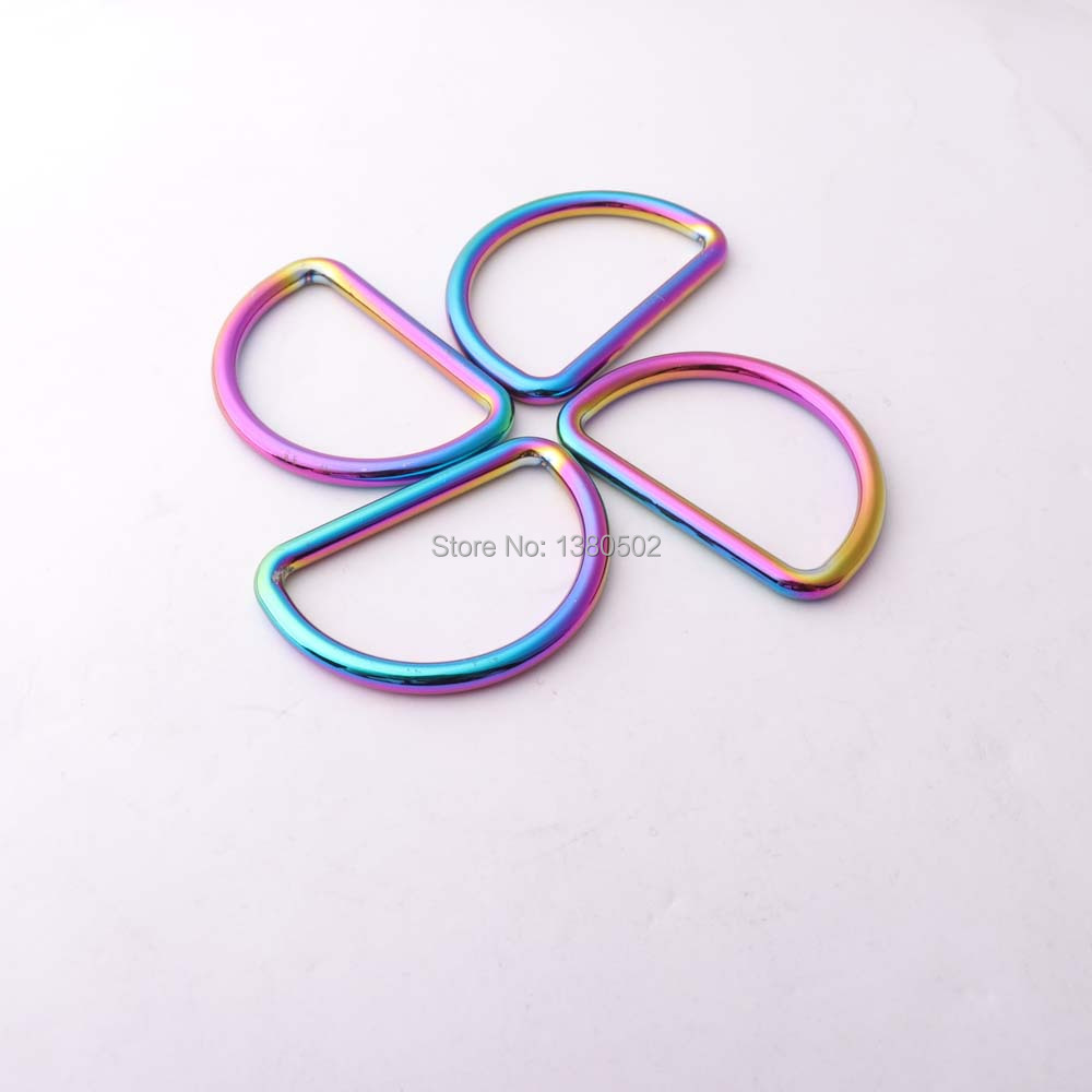 Detail Feedback Questions about 4pcs inner 40mm multicolor metal D ring Dee  ring top Grade buckle for belt Backpacks DIY Accessories on Aliexpress.com  ... f060dc0045ef