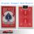 Original bicicleta magic card svengali cubierta de bicicleta estándar, magic trick (azul y rojo disponible)