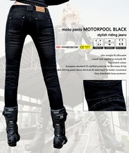 2016 Newest Cool uglyBROS Featherbed Ms. motorcycle riding pants racing pants black jeans girl jeans motor pants