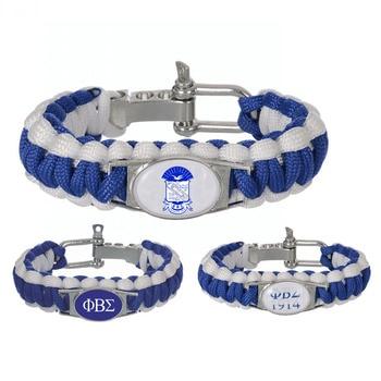 Phi Beta Sigma Fraternity Survival Bracelet