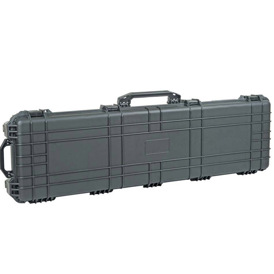 Internal 1066*343*133mm Waterproof Shockproof Hard Plastic Long Case With Pick Pluck Foam